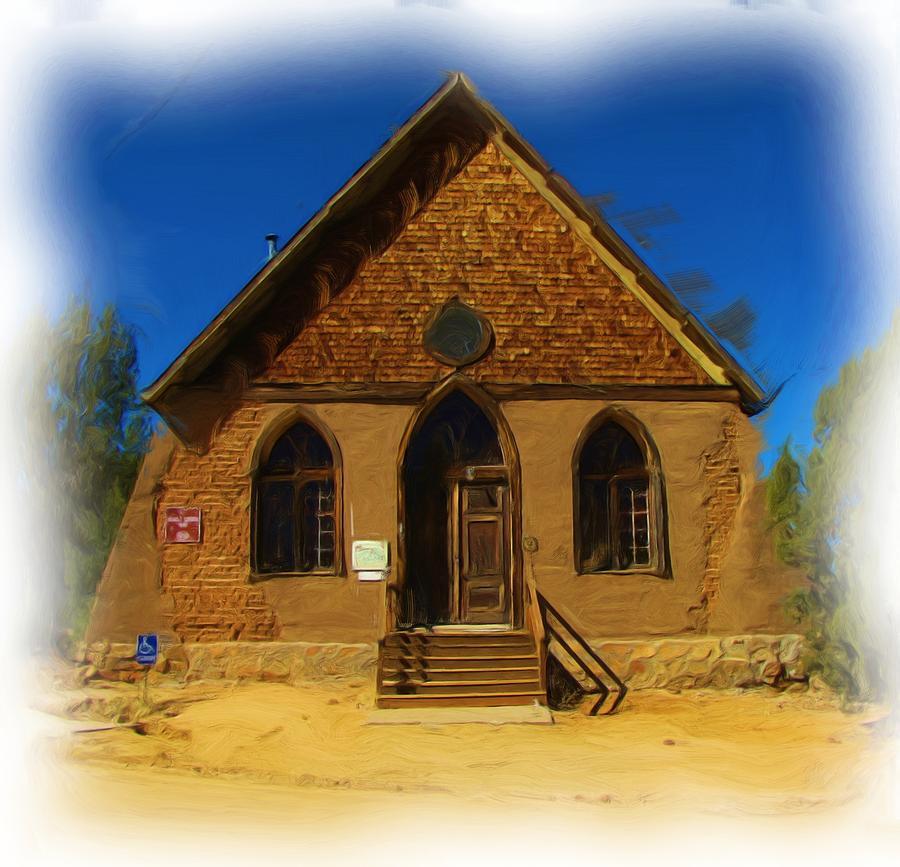 Churches Photograph - The Historic Hearst Church by FeVa  Fotos