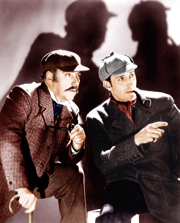 1930s Movies Photograph - The Hound Of The Baskervilles by Everett