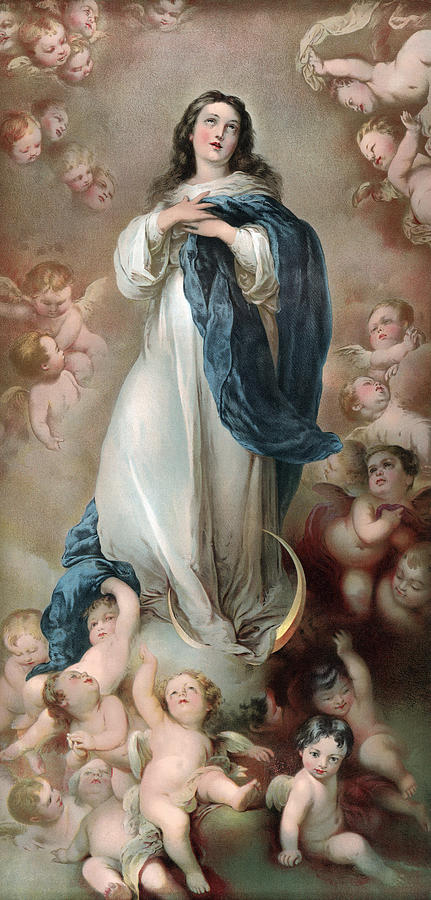 1920s Photograph - The Immaculate Conception, Depicting by Everett