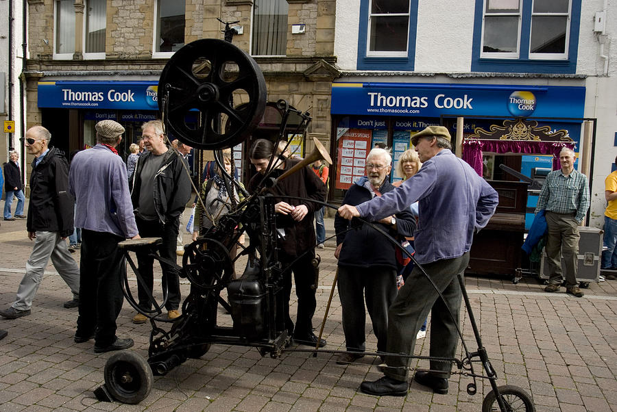 The Incredible Heath Robinson Machine Photograph by Peter Jenkins