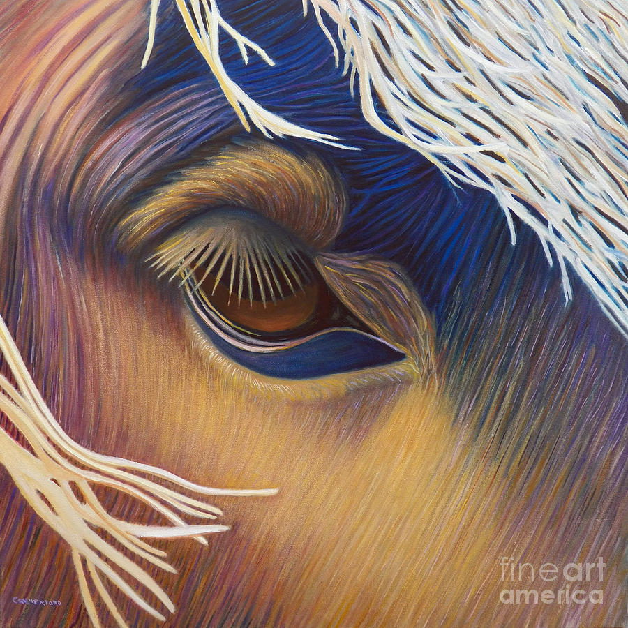Horse Painting - The Inner Voice by Brian  Commerford