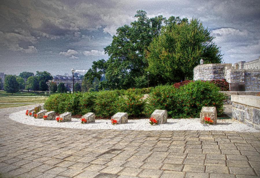 Virginia Tech Photograph - The Innocent Ones-virginia Tech Memorial by Kathy Jennings