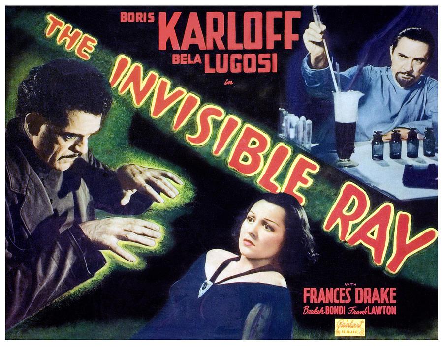 1930s Movies Photograph - The Invisible Ray, Boris Karloff by Everett