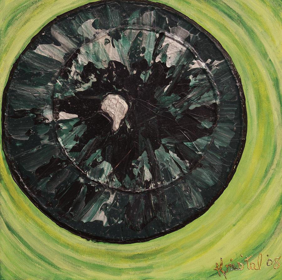 Painting - The Iris by Kris Tal Knutson