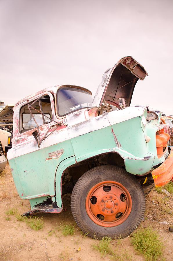 Car Photograph - The Iron Boneyard 10 by Matthew Angelo