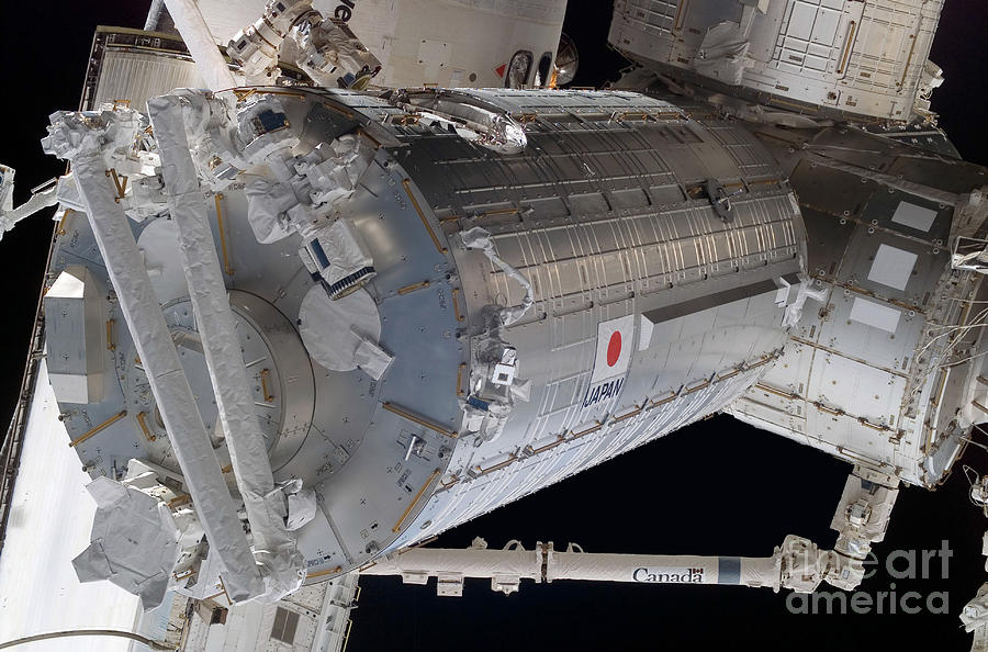 Color Image Photograph - The Japanese Pressurized Module, The by Stocktrek Images