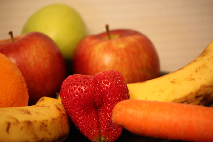 Apple Photograph - The Joy Of Fruit At Mid-day by Andrea Nicosia