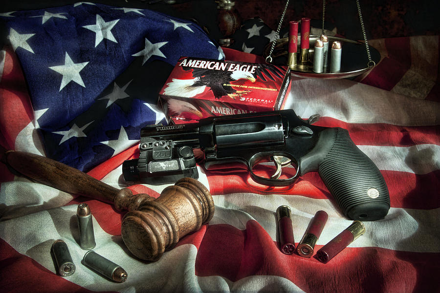 Gun Photograph - The Judge by Tom Mc Nemar