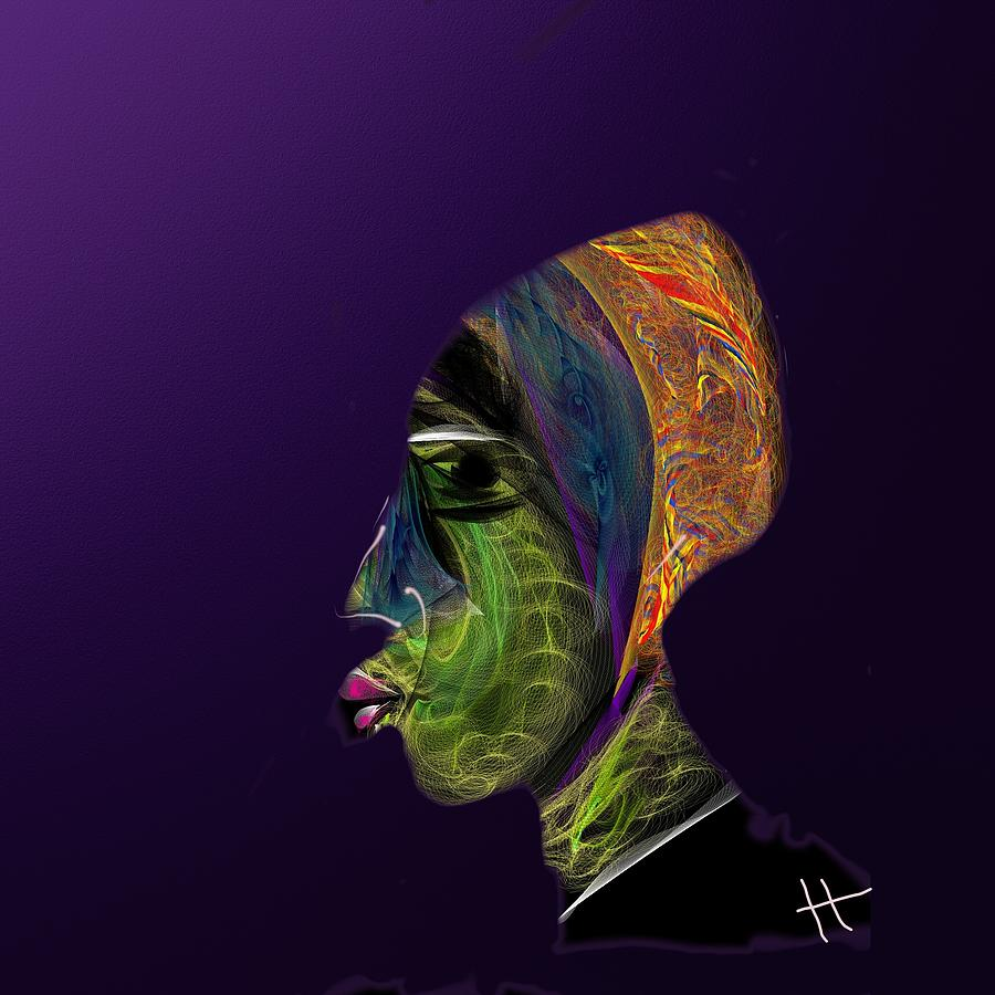 Digital Painting Digital Art - The Ka by Hayrettin Karaerkek