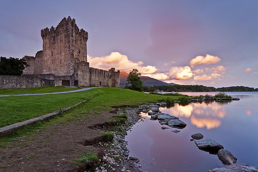 Ross Castle Photograph - The Keep by Brendan O Neill