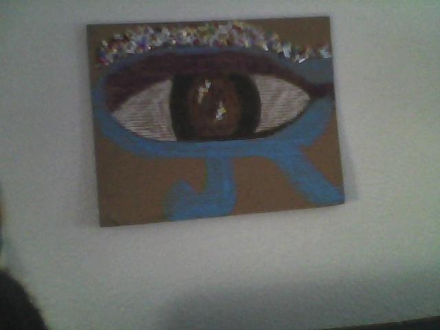 The Kemetic Eye Pastel by Antoinette Mboob