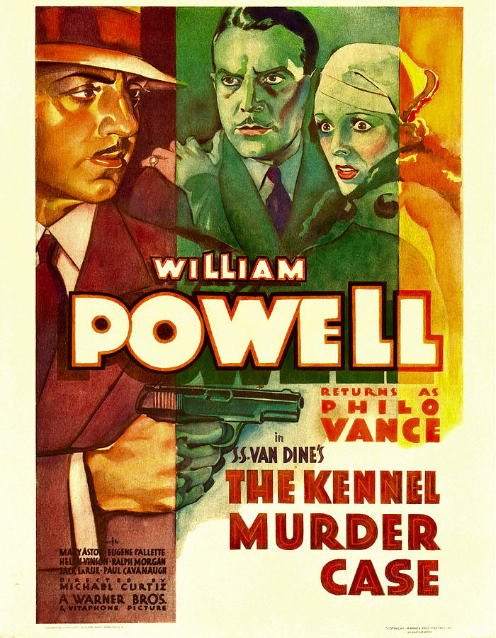 1930s Movies Photograph - The Kennel Murder Case, William Powell by Everett