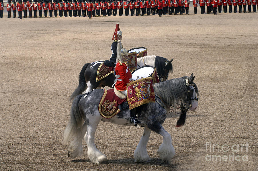 Instruments Photograph - The Kettledrums Of Household Cavalry by Andrew Chittock