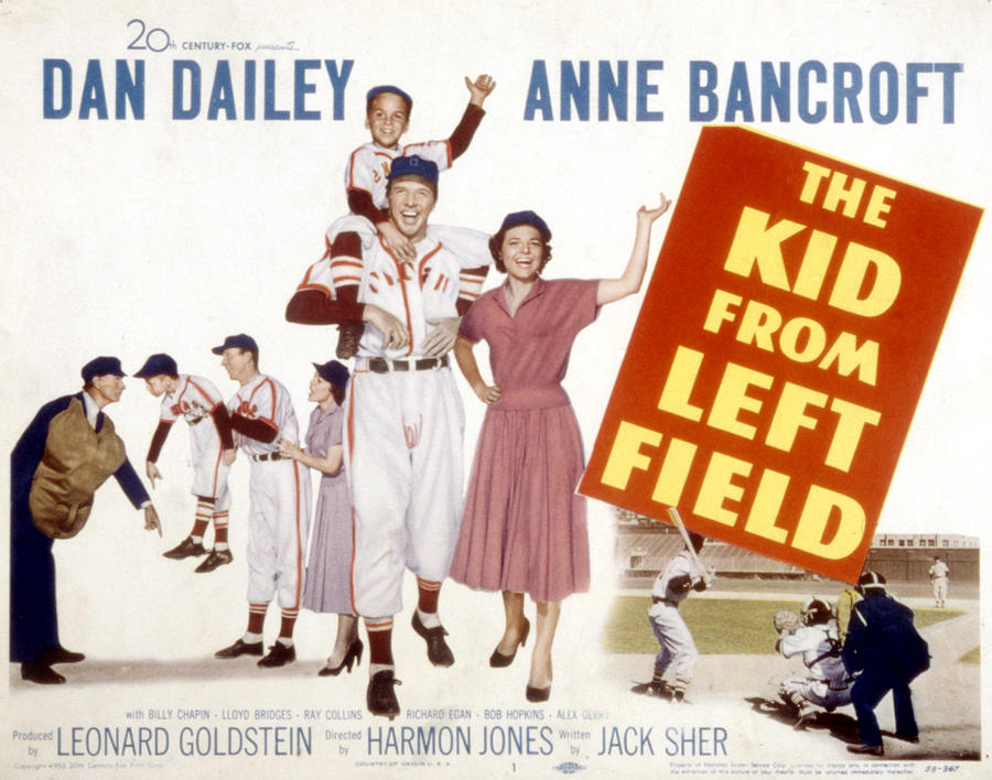 Bancroft Photograph - The Kid From Left Field, Dan Dailey by Everett