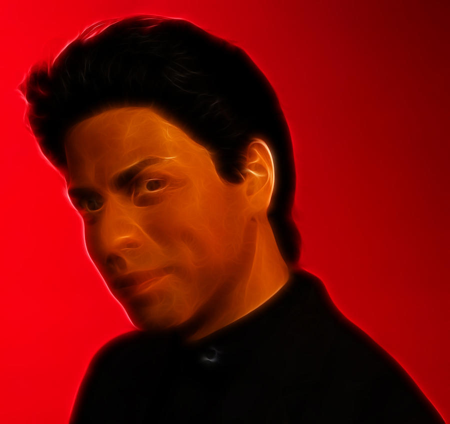 Actor Photograph - The King Of Bollywood - Shahrukh Khan - Shah Rukh Khan - Baadshah Of Bollywood - King Khan -  by Lee Dos Santos