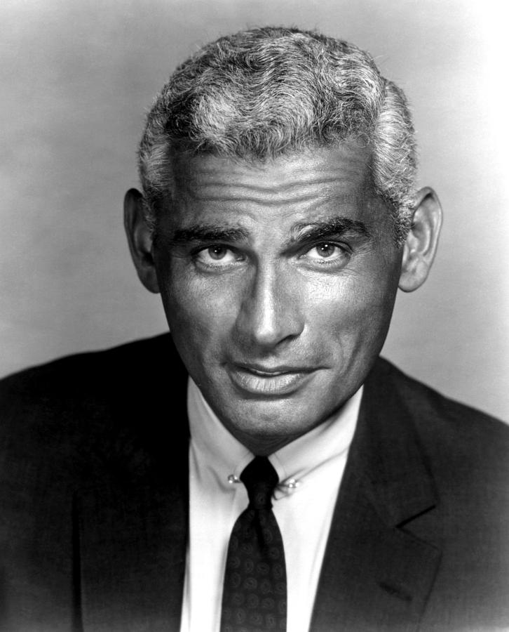 1950s Portraits Photograph - The Lady Takes A Flyer, Jeff Chandler by Everett