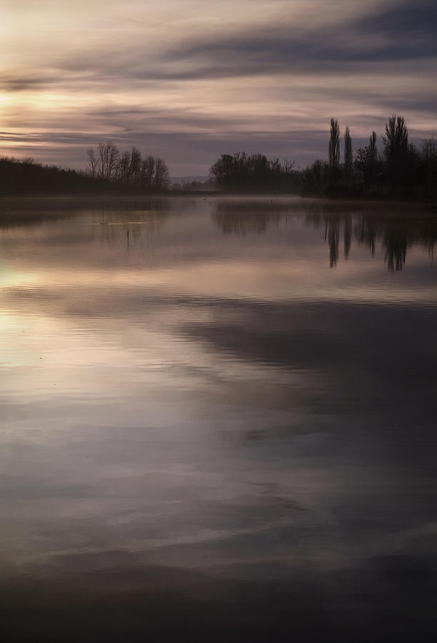 Lake Photograph - The Lake by Akos Kozari