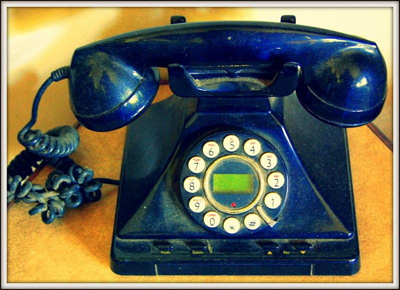 Phone Photograph - The Last Call  by Satya Winkelman