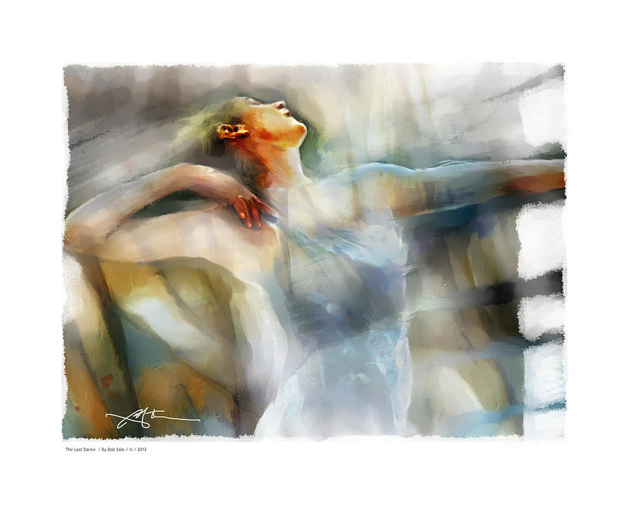 Dancer Painting - The Last Dance by Bob Salo