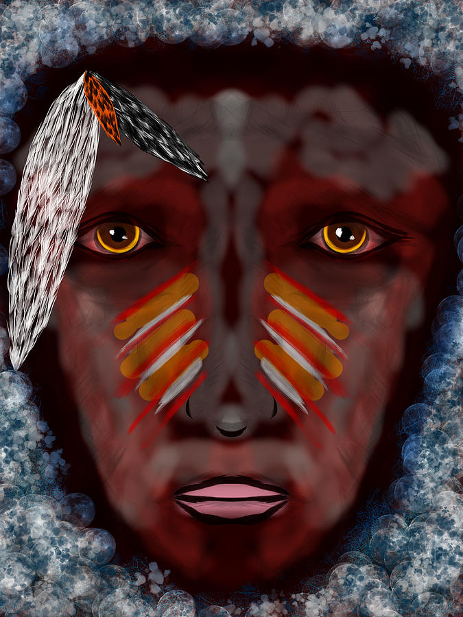 Dream Digital Art - The Last Indian Dream by Mathieu Lalonde