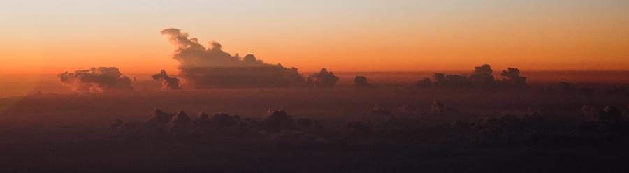 Nature Photograph - The Last Light by Michael Braxenthaler