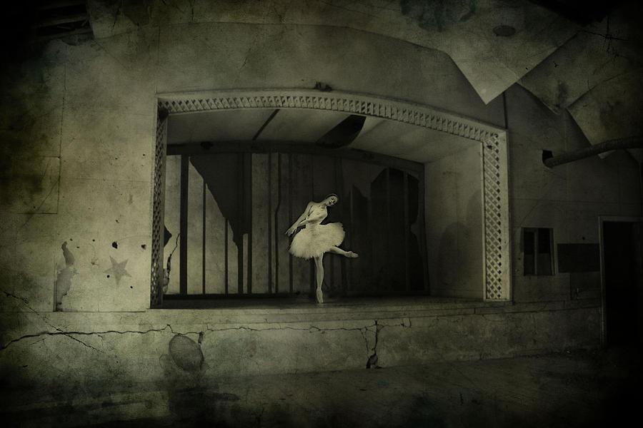 Ballerina Photograph - The Last Song  by Jerry Cordeiro