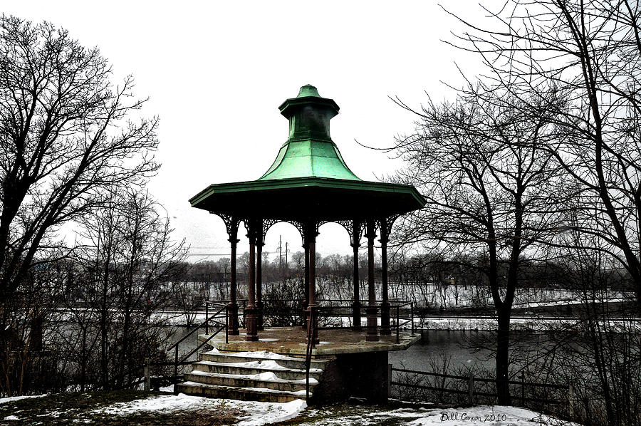 Lemon Hill Photograph - The Lemon Hill Gazebo - Philadelphia by Bill Cannon