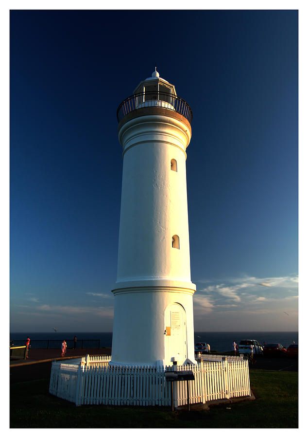 Kiama Photograph - The Light Tower by Alexey Dubrovin