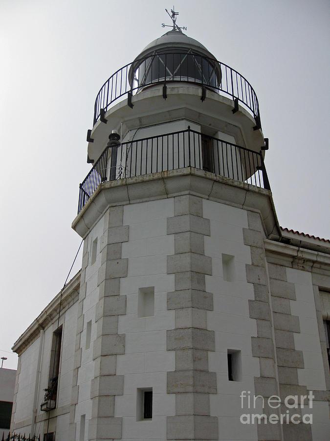 Spain Photograph - The Lighthouse - Peniscola by Rod Jones