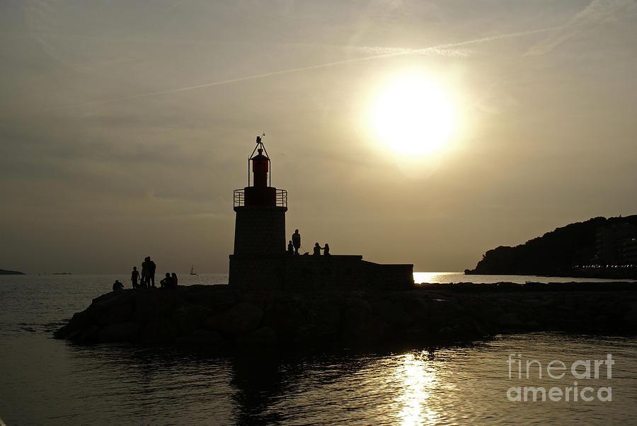 Var Photograph - The Lighthouse - Sanary-sur-mer by Rod Jones