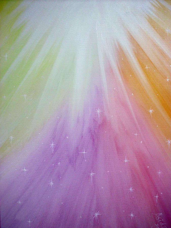 Abstract Painting - The Lights by Asida Cheng