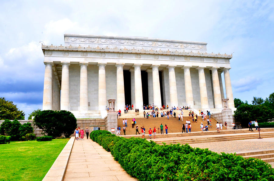 The Lincoln Memorial Washington Dc Photograph By Bill Cannon