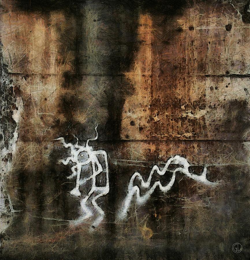Wall Digital Art - The Little Trumpet Player by Gun Legler