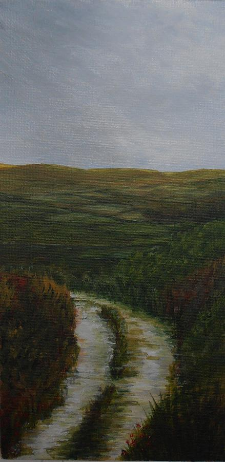Long Acre Painting - The Long Acre by Siobhan Lawson