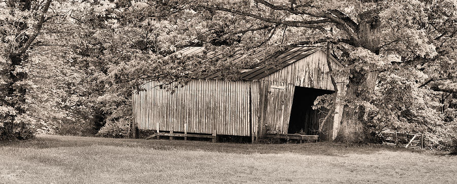 Barns Photograph - The Long Barn by JC Findley