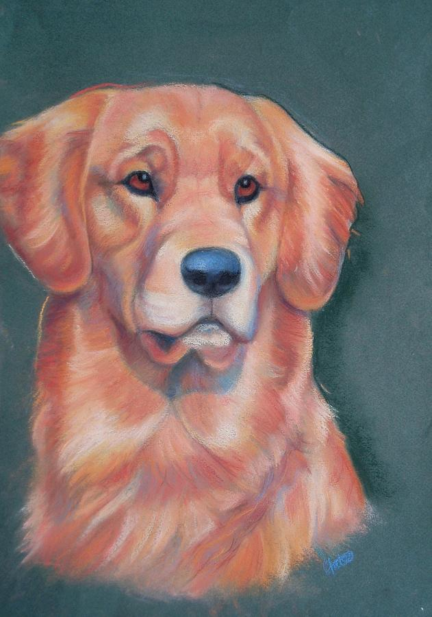 Dog Pastel - The Lookout Post by Joanna Gates