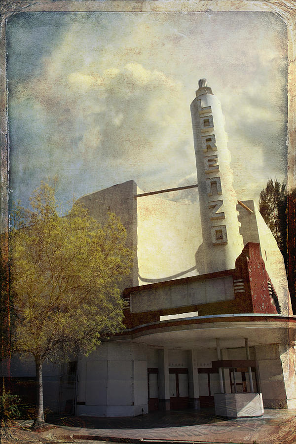 Movie Theater Photograph - The Lorenzo by Laurie Search