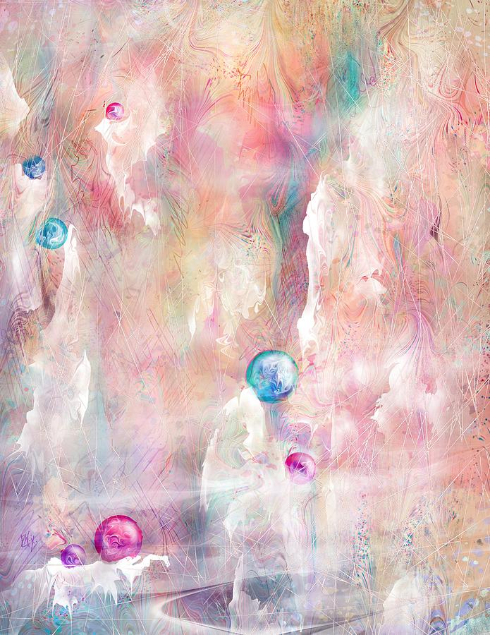 Landscape Painting - The Lost Marbles by Rachel Christine Nowicki