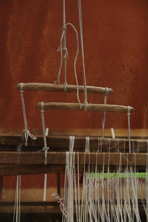 Weaver Photograph - The Lot Of The Weaver by Odd Jeppesen