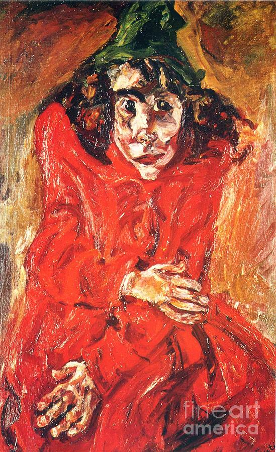 the mad woman painting by pg reproductions