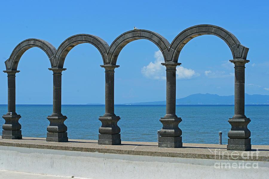 Puerto Vallarta Photograph - The Malacon by Randy Harris