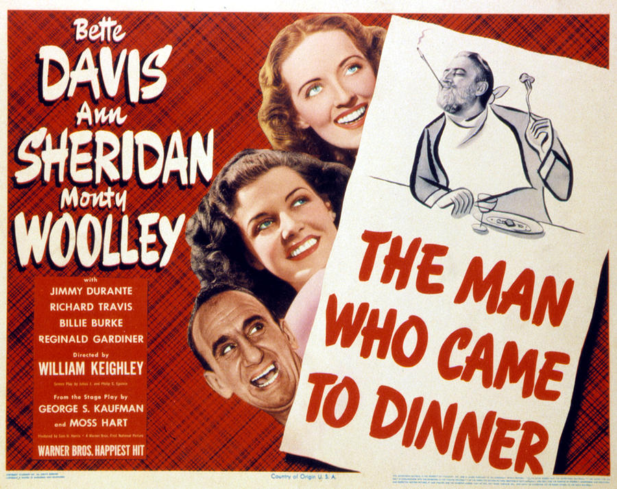 1940s Movies Photograph - The Man Who Came To Dinner, Jimmy by Everett