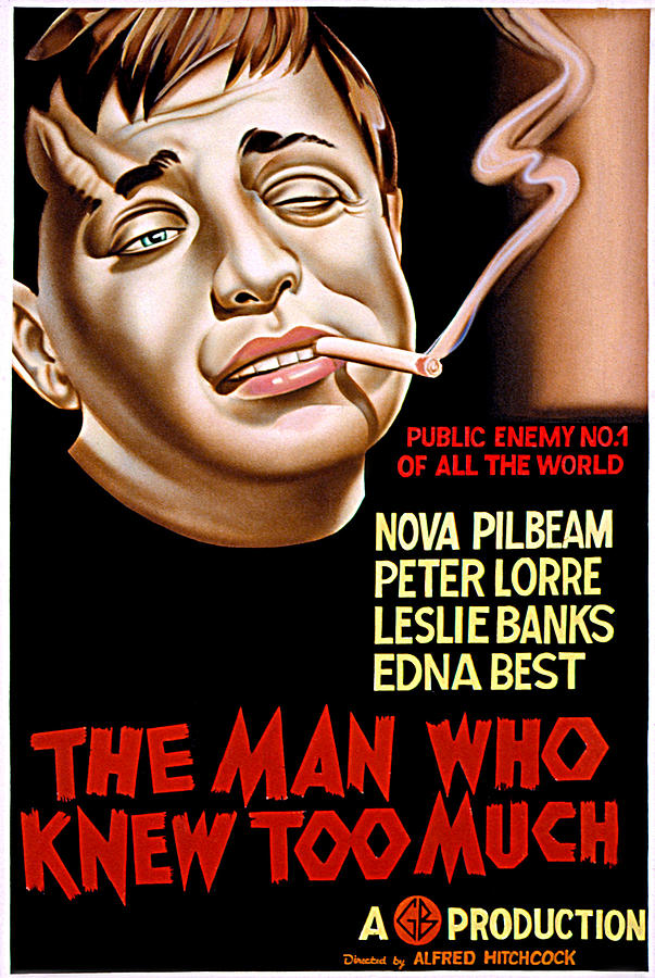 1930s Movies Photograph - The Man Who Knew Too Much, Peter Lorre by Everett
