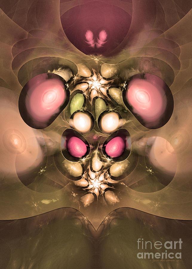 Fractal Digital Art - The Master Of Stargate by Sipo Liimatainen