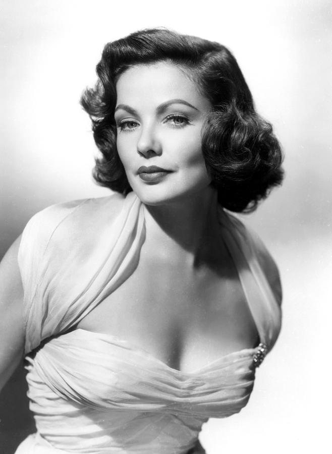 1940s Portraits Photograph - The Mating Season, Gene Tierney by Everett