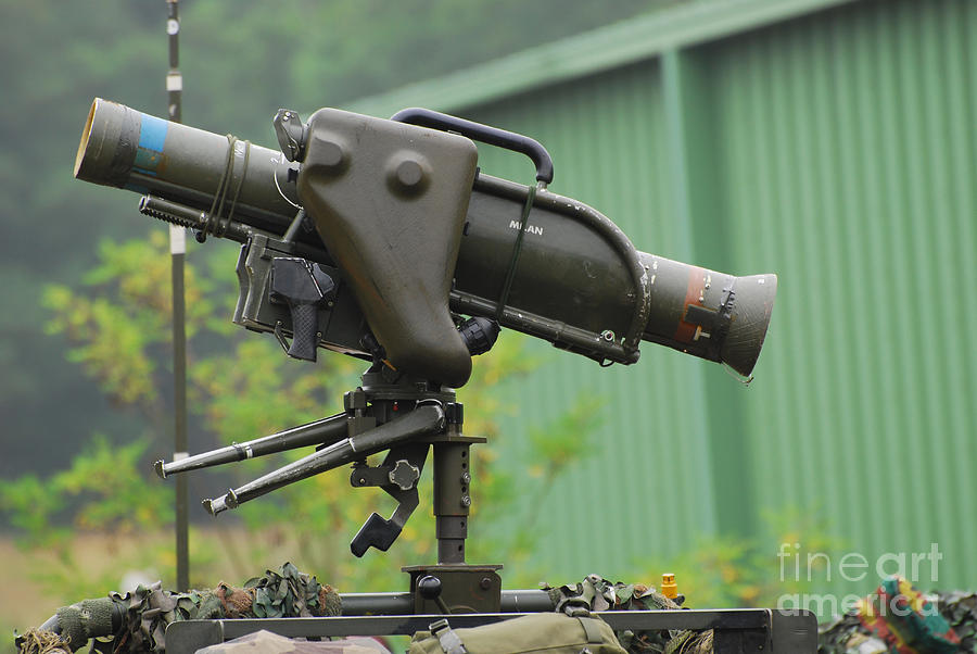 The Milan Guided Anti Tank Missile Photograph By Luc De