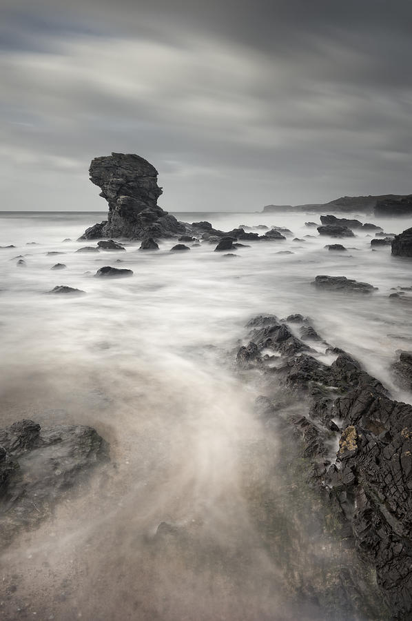 Seascape Photograph - The Milky Sea by Andy Astbury