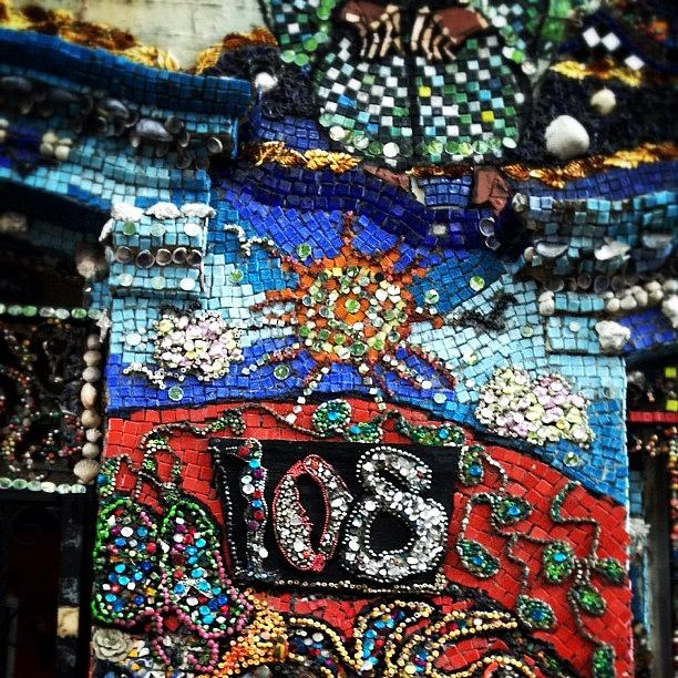 Gmy Photograph - The Mosaic House By Susan Gardner by Natasha Marco