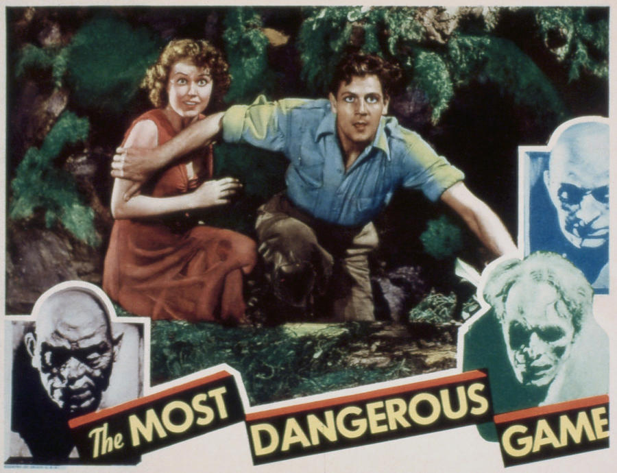 1930s Movies Photograph - The Most Dangerous Game, Fay Wray, Joel by Everett