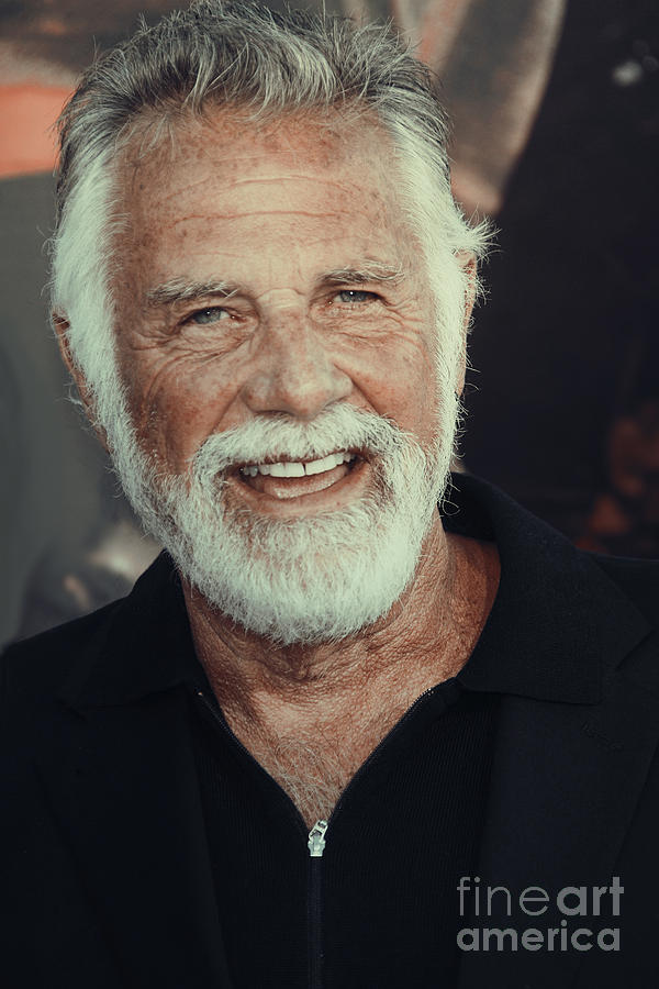 Jonathan Goldsmith Photograph - The Most Interesting Man In The World by Nina Prommer